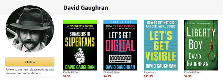 david gaughran on amazon