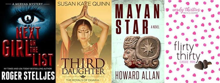 Historical romance and thrilling reads
