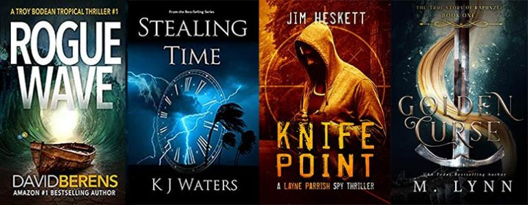 Tropical thrillers & an ebook for a good cause