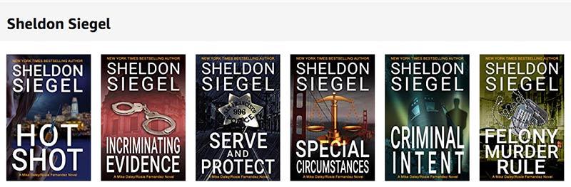 sheldon siegel books