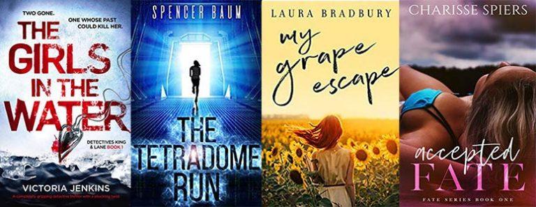 Suspense, romance, historical novels & sci-fi